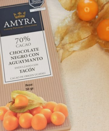 chocolate de aguaymanto