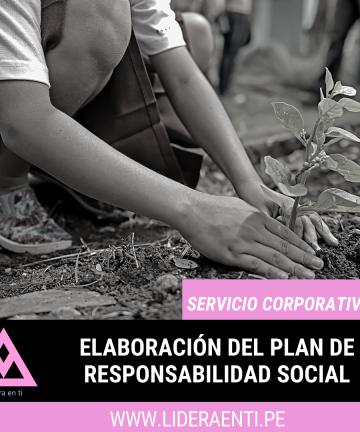 elaboracion del plan de responsabilidad social