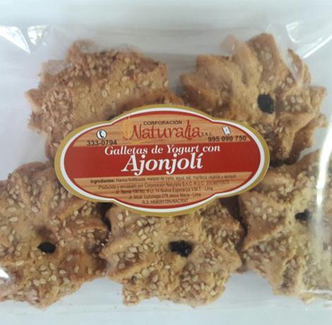 galletas de ajonjoli 3 soles